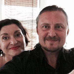 Judita Hansman a František Lintner